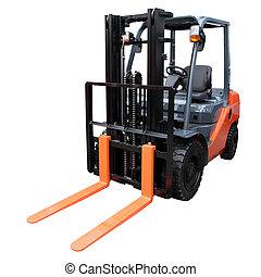 Orange loader