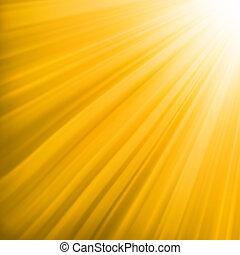 Orange luminous rays. EPS 8 vector file included