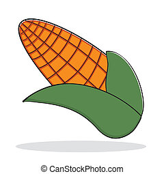orange, maïs, résumé