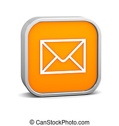 Orange Mail Sign