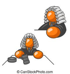 Orange Man Judge