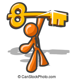 Orange Man Key