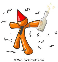 Orange Man Party Hit