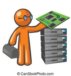 Orange Man Server Technician - Orange Man server technician.