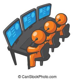 Orange Man Telemarketing or Phone Support - Orange Man phone...