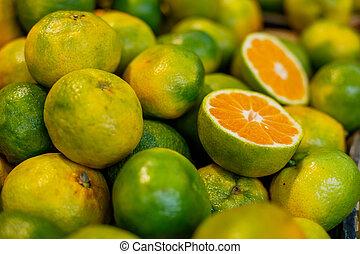 orange, marché