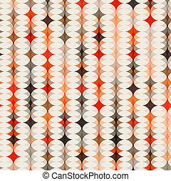 orange, modèle, seamless, fond