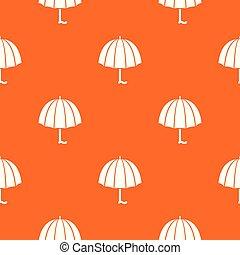 orange, modèle, vecteur, mode, parapluie