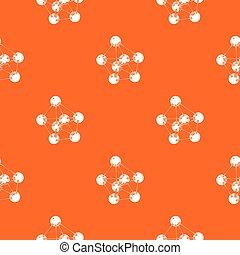 orange, modèle, vecteur, phenol
