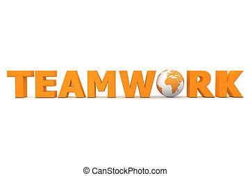 orange, mondiale, collaboration