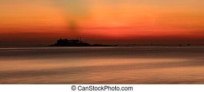 Orange Morning Sky Vietnam