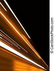 Orange Motion - Orange Background