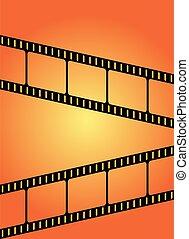 Orange Movie Film Background