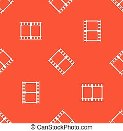 Orange movie pattern