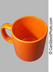Orange mug one