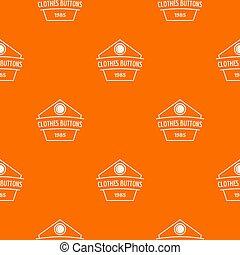 orange, muster, taste, kleiden, kleidung