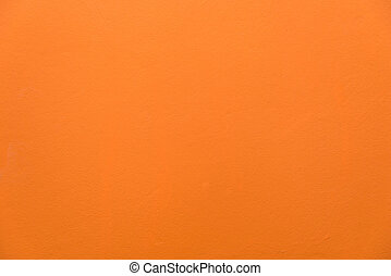 orange of cement  wall texture for background