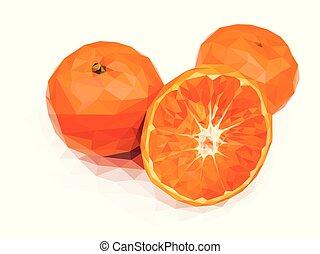 Orange, one of the Chinese auspicious fruit