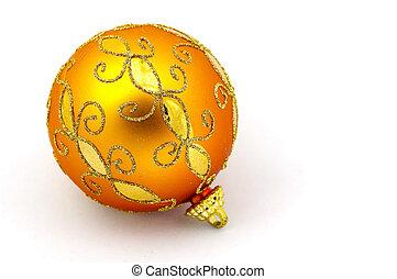Orange Ornament