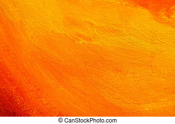 orange painted texture - orange texture. hand painted...