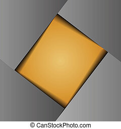 orange paper background