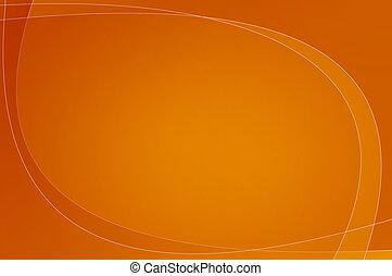 orange, papier peint, /, fond