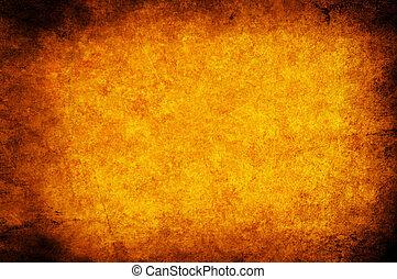 orange, papier