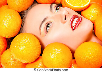 orange, paradies