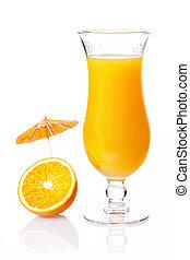 Orange party cocktail