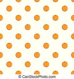 Orange pattern seamless