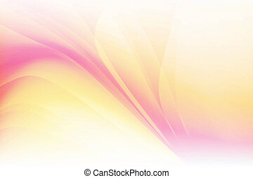 Orange Pink Abstract Background