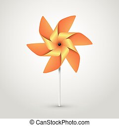 orange pinwheel