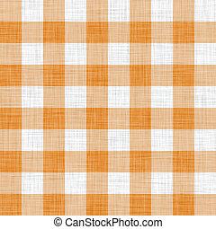 orange, pique-nique, tissu