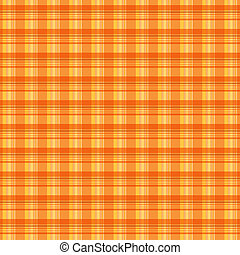 plaid texture  - Orange plaid texture background
