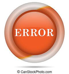Orange plastic icon