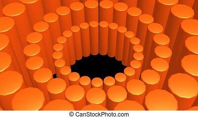 orange, posten