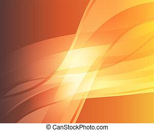 orange, résumé, 3, fond