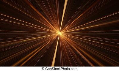 Orange Rays of Light, Twinkling