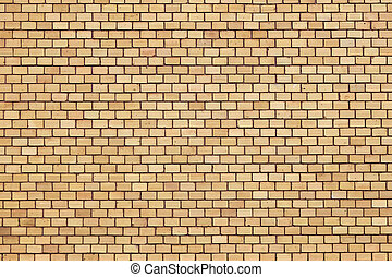 orange red brick wall