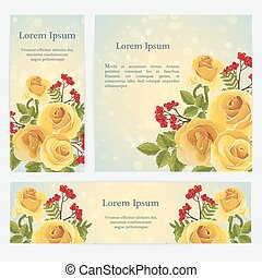 Orange rose graphic flowers - English orange rose and...