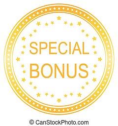 round special bonus button