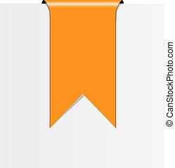 orange, ruban