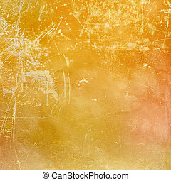 Orange scratched background