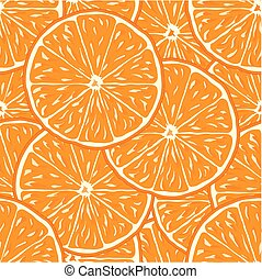 orange seamless background