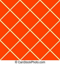 orange seamless ceramic tiles