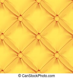 Orange Seamless  Leather Upholstery Pattern