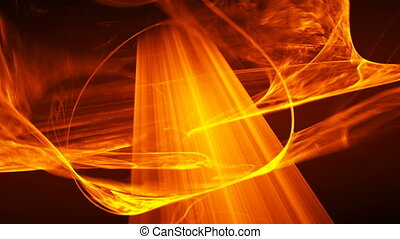 orange seamless looping background