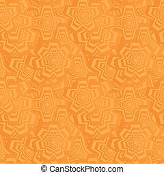 Orange seamless polygon pattern background