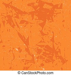 Orange seamless tile pattern, texture,