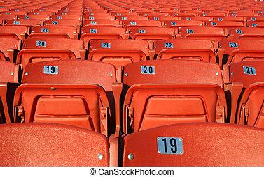 Orange Seats 2